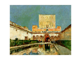The Alhambra, Grenada, Spain, C.1883 Giclee Print by Childe Hassam