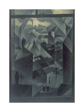 From an Office Window, 1918 Giclee Print by Christopher Richard Wynne Nevinson