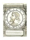 Henricus VI Reproduction procédé giclée par Hans Rudolf Manuel Deutsch