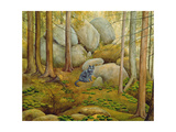 In the Wood Giclee Print by  Ditz