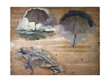 Scketches for Umbrellas Lámina giclée por Demetrio Cosola