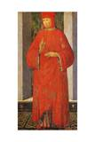 Portrait of Francis Datini Giclee Print by Filippo Lippi