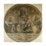 Holy Family with Saints Elizabeth and John, 1509-1511 Giclee Print by Correggio