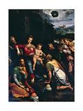 Adoration of the Magi, 1532 Giclee Print by Girolamo da Carpi