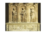 Three Theological Virtues, Detail from Antipope John XXIII's Tomb Giclee Print by  Donatello