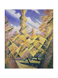 The Four Seasons: Autumn, C.1919 Giclee Print by Christopher Richard Wynne Nevinson
