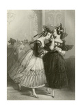 The Masquerade Giclee Print by Edward Henry Corbould