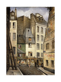 Rue St. Julien Le Pauvre, Paris Giclee Print by Christopher Richard Wynne Nevinson