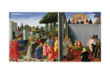 Stories of St Nicholas Giclee Print by  Fra Angelico