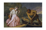 Scene from the Myth of Cupid and Psyche Giclee Print by Felice Giani