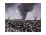 The Strafing, C.1914 Giclee Print by Christopher Richard Wynne Nevinson