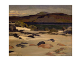 Ben More from Cow's Rock Giclee Print by Francis Campbell Boileau Cadell