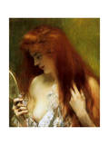 Girl with Red Hair Giclee Print by Henri Gervex
