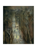 Soho Twilight, C.1924 Giclee Print by Christopher Richard Wynne Nevinson