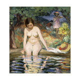 Bather; Baigneuse, 1910 Giclee Print by Henri Lebasque