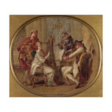 Concert with Four Figures, C.1774 Giclee Print by Francois Andre Vincent