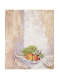 Peaches and Grapes, 1993 Giclee Print by Diana Schofield