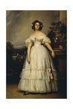 Clementine Marie D'Orleans, 1845 Giclee Print by Franz Xaver Winterhalter