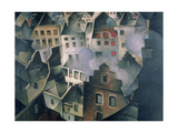 Ypres after First Bombardment Giclee Print by Christopher Richard Wynne Nevinson
