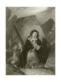 The Earthquake Giclee Print by Edward Henry Corbould
