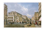 View of the Wiener Staatsoper, Vienna, 1872 Giclee Print by Franz Alt