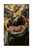 The Entombment of St. Catharine of Alexandria on Mount Sinai Giclee Print by Francisco de Zurbaran