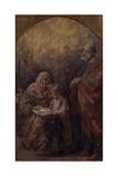 Holy Family Lámina giclée por Demetrio Cosola