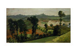 Hilly Landscape Giclee Print by Demetrio Cosola