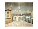 Channel Steamer Giclee Print by Eric Ravilious