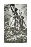 Paris Etudie Dans Son Atome,19th Century Giclee Print by Ferdinand Victor Eugene Delacroix