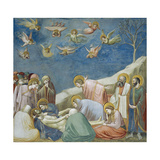 Lamentation over Dead Christ, Detail from Life and Passion of Christ, 1303-1305 Giclee Print by  Giotto