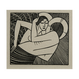 Stay Me with Apples, 1925 Giclee Print by Eric Gill