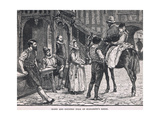 Town and Country Folk of Elizabeth's Reign Giclee Print by Gordon Frederick Browne