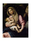 Madonna with Child, Detail from Our Lady of Graces Giclee Print by Fabrizio Santafede