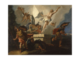 Resurretion of Christ Giclee Print by Francesco Fontebasso