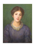 Euterpe Ionides, 1881 Giclee Print by George Frederick Watts