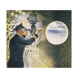Submarine Giclee Print by Eric Ravilious