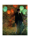 July Night, 1898 Giclee Print by Childe Hassam