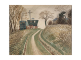 Caravans, 1936 Giclee Print by Eric Ravilious