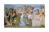 Fresco Giclee Print by Domenichino