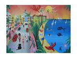 Ocean Drive, Miami Beach, 2010-12 Giclee Print by Herbert Hofer
