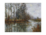 Turn of the Eure; Tournant De L'Eure Giclee Print by Gustave Loiseau