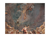Triumph of Hercules and the Four Seasons Giclée-tryk af Giuseppe Maria Crespi