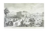 Villa Palmieri in Fiesole Giclee Print by Giuseppe Zocchi