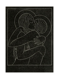 Divine Lovers, 1922 Giclee Print by Eric Gill