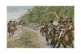 Napoleon's Mode of Travelling Giclee Print by Felicien Baron De Myrbach-rheinfeld