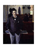 At Café Giclee Print by Gustave Caillebotte