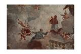 Glory in Heaven, 1761 - 1768 Giclee Print by Francesco Fontebasso