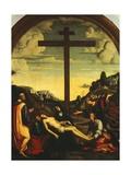 Deposition Giclee Print by Francesco Francia