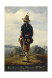 First War of Independence, Lombard Soldier in the Manara Legion, 1848-1849 Giclee Print by Faustino Joli